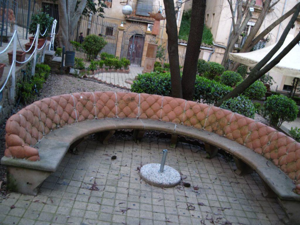 Panchine in terracotta di caltagirone Ceramiche Ripullo