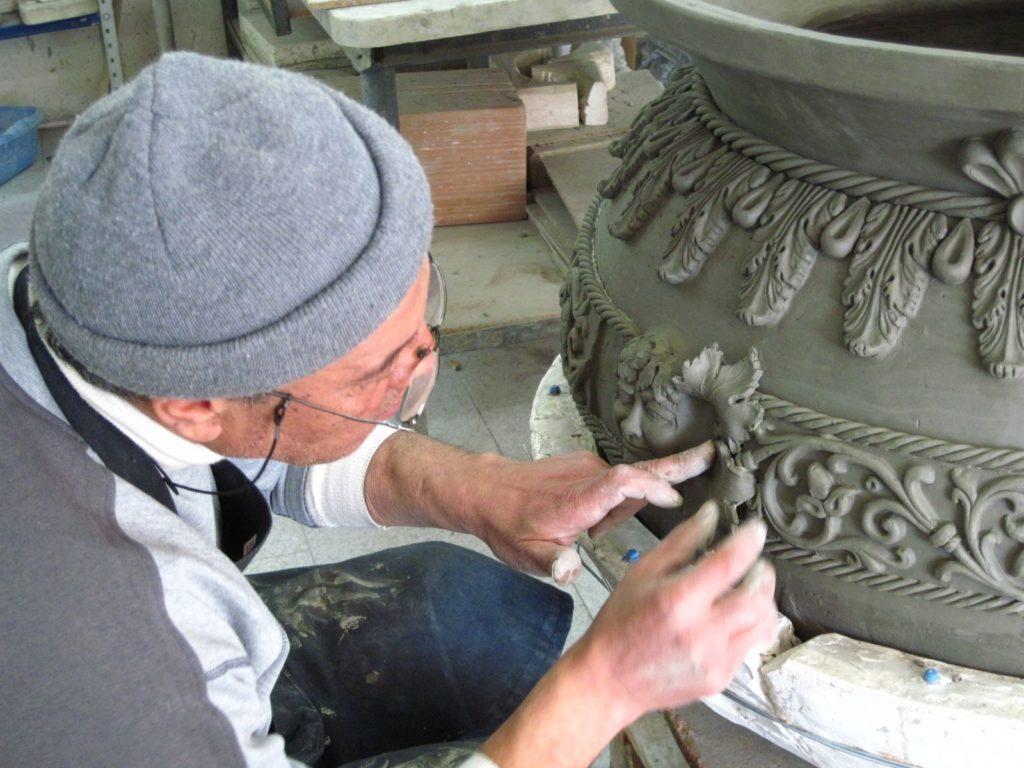 Ceramiche Ripullo Caltagirone vaso