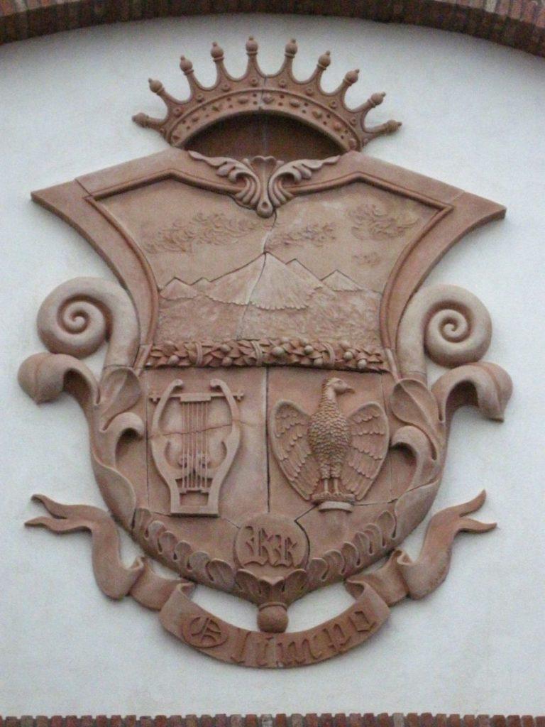 Scudo in Terracotta di caltagirone