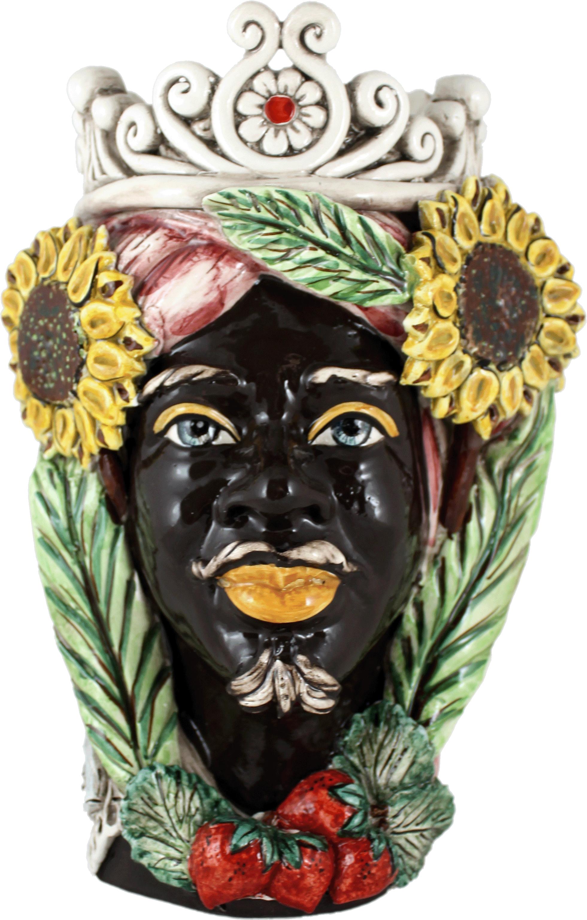 Teste di Moro Estate quattro stagioni Ceramiche di caltagirone